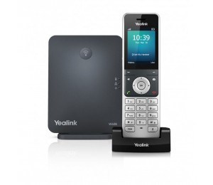 Yealink W60P Wireless DECT Solution including Base Station and 1 Handset W60P