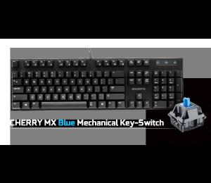 Gigabyte Force K83 Mechanical Gaming Keyboard Cherry Mx Blue Switch Anti-ghosting Function & Windows-lock