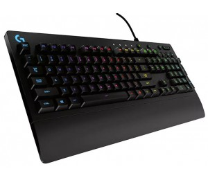Logitech G213 Prodigy Rgb Gaming Keyboard 16.8 Million Lighting Colors Mech-dome Backlit Keys Dedicated