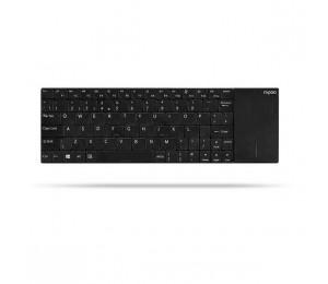 Rapoo E2710 Wireless Multi-media Touchpad Keyboard Black (ls) E2710 Black