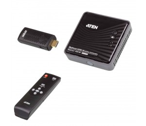 Aten Vancryst Wireless Hdmi Extender (Up To 30M Full Hd 1080P 3D) - 2X Hdmi Switch Ve819-At-U