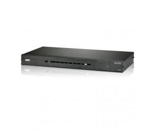 """Aten Vancryst 8 Port Hdmi Video Splitter - 4Kx2K (Ultra Hd) 1080P Or 15M Max"""" Vs0108Ha-At-U"""