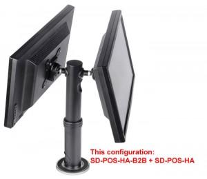 Atdec Display Pos Height Adjustable Requires 1 X Sd-pos-ha Sd-pos-ha-b2b