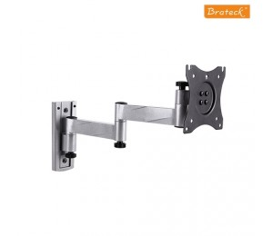 Brateck Aluminium Articulating Extension Wall Mount With Lock Function Caravan And Etc - 13-27""""
