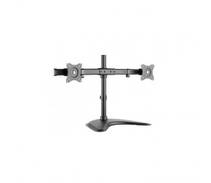 "Brateck Essential Dual Monitor Desktop Stand For 13"" -27"" Lcd Monitors And Screens Ldt08-T02"
