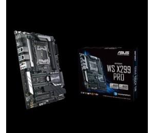 Asus X299 Pro Ws Atx Mb 4Xddr4 5Xpcie 1Xm.2 6Xsata Raid 5Xusb3.0 1Xusb Typec 2 X Intel Lan Port