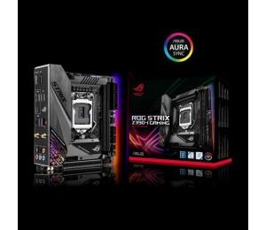 Asus Rog Strix Z390-I Gaming Intel Z390 Lga 1151 Mini-Itx Gaming Mb Ddr4 4600+ M.2 Intel Wi-Fi