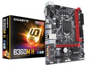 Gigabyte B360M H Lga1151 8Gen Matx Mb 2Xddr4 4Xpcie Dvi Hdmi Vga M.2 6Xsata 4Xcrossfire 6Xusb3.1