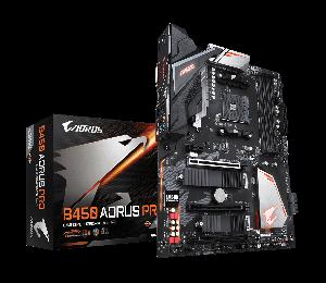 Gigabyte B450 Aorus Pro Ryzen Am4 Atx Motherboard 4xddr4 4xpcie 2xm.2 Dvi Hdmi Raid Intel Gbe Lan