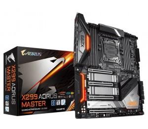 Gigabyte X299 Aorus Master Lga2066 12 Phases Digital Vrm 8Xddr4 4Xpcie3.0 3Xm.2 Raid Intel Gbe