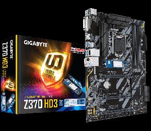 Gigabyte Ga-z370-hd3-op With 32gb Optane Lga1151 8gen Atx Motherboard 4xddr4 6xpcie Dvi Hdmi 1xm.2