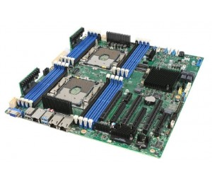 Intel S2600stb Server Motherboard Dual Lga3467 C624 Chipset 16 X Dimm 2 X 10gbe Pcie X 16 Ssi