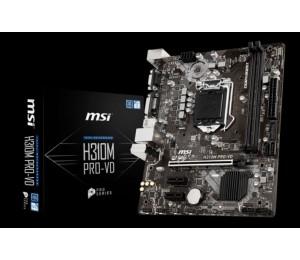 Msi H310m Pro-vd Matx Motherboard - S1151 8gen 2xddr4 3xpci-e 2xusb3.1 4xusb2.0 1xdvi 1xd-sub H310m