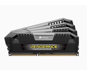 Corsair Vengeance Pro 32Gb (4X8Gb) Ddr3 1600Mhz C9 Desktop Gaming Memory Black Cmy32Gx3M4A1600C9