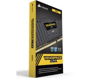Corsair 16GB (2x8GB) DDR4 2666MHz Vengeance LPX Black Heat spreader AMD RYZEN CMK16GX4M2Z2666C16
