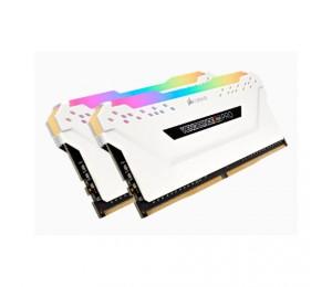 Corsair Vengeance Rgb Pro 32gb (2x16gb) Ddr4 3200mhz C16 Desktop Gaming Memory White Cmw32gx4m2c3200c16w