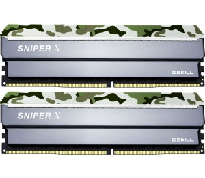 G.SKILL Sniper X 32GB (2x16GB) DDR4 3000Mhz C16 1.35V Gaming Memory Forest Header F4-3000C16D-32GSXFB