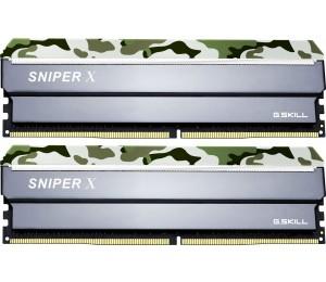 G.SKILL Sniper X 32GB (2x16GB) DDR4 3200Mhz C16 1.35V Gaming Memory Forest Header F4-3200C16D-32GSXFB