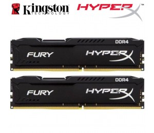 Kingston Hyperx Fury 8gb (2x4gb) Ddr4 Udimm 2666mhz Cl15 1.2v Unbuffered Valueram Double Stick