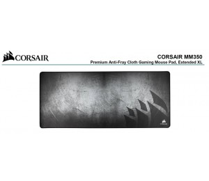 Corsair Mm350 Premium Anti-Fray Cloth Gaming Mouse Pad. Extended Extra Large Edition 930Mm X 400Mm