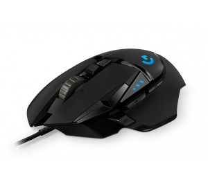Logitech G502 Hero High Performance Gaming Mouse11 Programmable Buttons 16 000 Dpi Tunable Weight