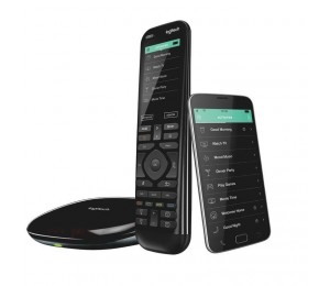 Logitech Harmony Elite Advanced Universal Remote Control with Hub One-touch actions Universal