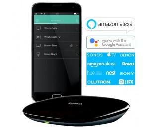 Logitech Harmony Smart Home Ir Hub Universal Remote Controller For Smarthome Via Ios Android Alexa