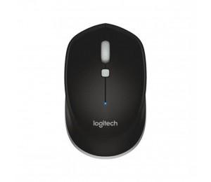 Logitech M337 Black Wireless Mouse Blue Comfort Grip 910-004521