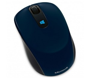 Microsoft Wireless Sculpt Mobile Usb Optical Mouse - Blue 43u-00015
