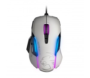 Roccat Kone Aimo Rgba Smart Customization Gaming Mouse (white Version) Roc-11-815-we-as
