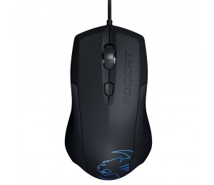 Roccat Lua Tri-button Gaming Mouse Black - Upto 2000dpi Arctic Blue Led Roc-11-310-as