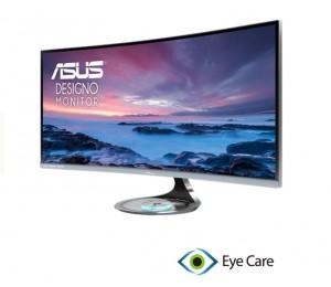 "ASUS MX34VQ 34"" Ultra-wide Curve Monitor UWQHD 3440x1440, 1800R Curvature, Frameless MX34VQ"