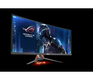 "ASUS PG348Q 34"" Ultra-wide Gaming Monitor QHD 3440x1440 overclockable 100Hz G-SYNC PG348Q ."