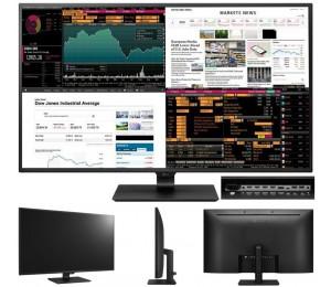 "LG 43"" IPS 8ms 4K 3840x2160 Monitor - 4xHDMI DP Type-C USB3.1 10W Bass Speakers Tilt VESA200mm"