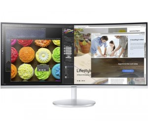"""Samsung 34"""" Gaming Curved Immersion Quantum Dot 125% Srgb Va 100 Hz 3 000:1(Typ.)Contrast Ratio"""
