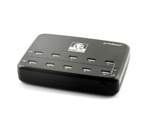 Mbeat ® Gorilla Power 10 Port 60 W Usb Charging Station Chgr-10U-Blk