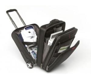 "Verbatim 49851 Corporate Luggage Paris Backpack Roller Bag For 13"" 14"" 15"" 16"" Notebook Laptop"