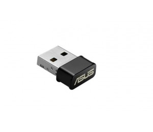 ASUS USB-AC53 Nano AC1300 Wireless USB Adapter Support MU-MIMO and Windows 7/ 8/ 8.1/ 10 Operating