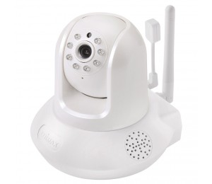 Edimax Smart Hd Wi-fi Pan/ Tilt Network Camera With Temperature & Humidity Sensor Day & Night