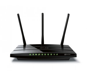 TP-Link Archer C1200 AC1200 1200Mbps Wireless Dual Band Gigabit Router 2.4GHz (300Mbps) 5GHz (867Mbps)