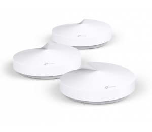 TP-Link Deco M5 (3-pack) Whole-Home Mesh Wi-Fi 1300Mbps Router Built-In Antivirus Security Coverage