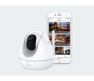 TP-Link NC450 Wireles WiFi IP HD Camera Night Vision Pan Tilt PoE 1MP 30 fps 720p Motion & Sound