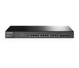 TP-Link T1700X-16TS JetStream 12-Port 10GBase-T Smart Switch with 4x10G SFP+ Slots L2+ IPv6 WEB/