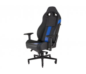 Corsair T2 Road Warrior High Back Desk And Office Chair Black/ Blue 2 Year Warranty. Cf-9010009-ww