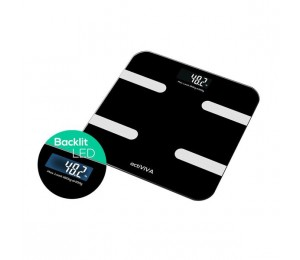 Mbeat Activiva Bluetooth Bmi And Body Fat Smart Scale With Smartphone App Mb-Scal-Bt01