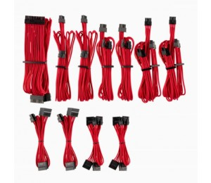 Corsair For Corsair Psu - Red Premium Individually Sleeved Dc Cable Pro Kit Type 4 (Generation