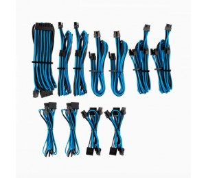 Corsair For Corsair Psu - Blue/ Black Premium Individually Sleeved Dc Cable Pro Kit Type 4 (
