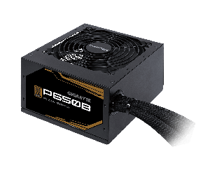 Gigabyte P650b 650w Atx Psu Power Supply 80+ Bronze 89% 120mm Fan Mesh Braided Cables Single +12v