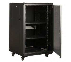 Linkbasic 18Ru 800Mm Depth Server Rack Mesh Door With 4X240V Fans And 8-Port 10A Pdu Ncb18-68-Dda
