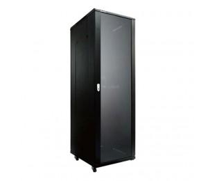Linkbasic 42Ru 1000Mm Depth Server Rack Glass Door With 4X240V Fans And 8-Port 10A Pdu Ncb42-610-Bda